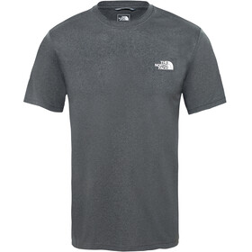 The North Face Reaxion Ampere Crew Shirt Men TNF dark grey heather/high rise grey